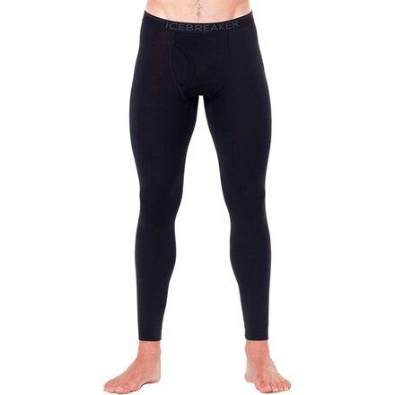 Icebreaker Men/'s Merino Oasis Leggings Black Size L