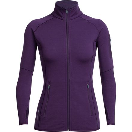Icebreaker Atom Long-Sleeve Zip - Women's
