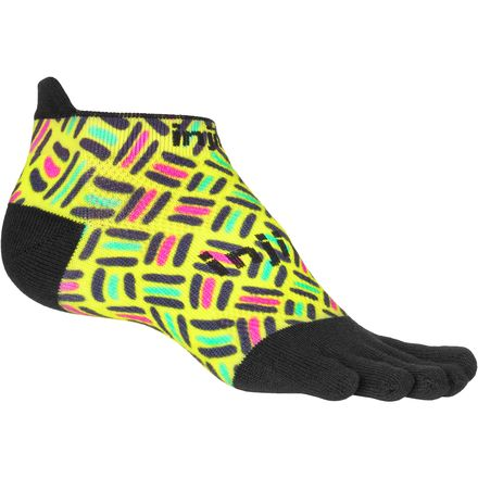 Injinji Run Original Weight No-Show CoolMax Sock - Men's