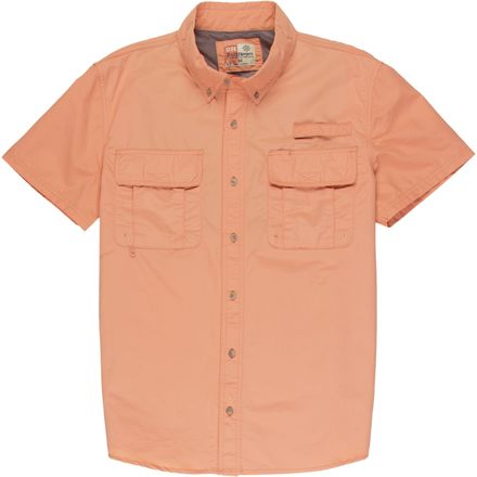 Smith's Performance Nylon Short-Sleeve Fishing Shirt - Men's