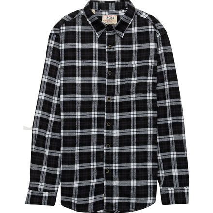 JACHS Plaid Flannel Button Down Shirt - Men's