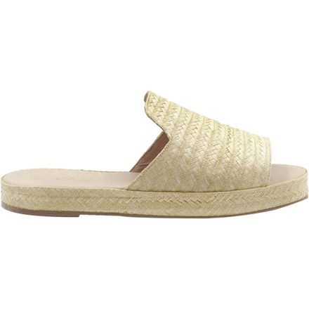 Kaanas Martinique Raffia Slide Sandal - Women's