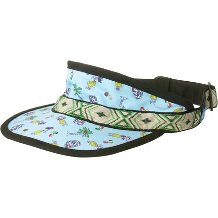 KAVU Synthetic Strap Visor
