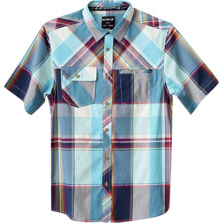KAVU Boardwalk Short-Sleeve Shirt - Men's