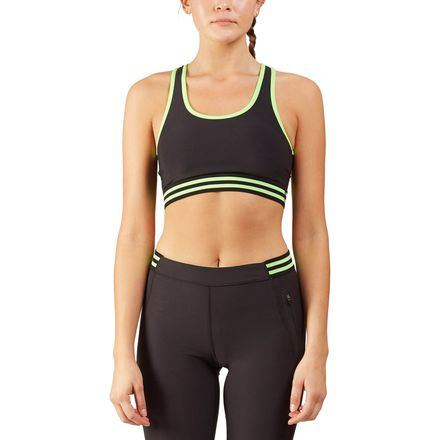 Ki Pro NYC Varsity Stripe Sports Bra - Women's