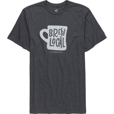 Locally Grown Coffee Cup T-Shirt - Men's