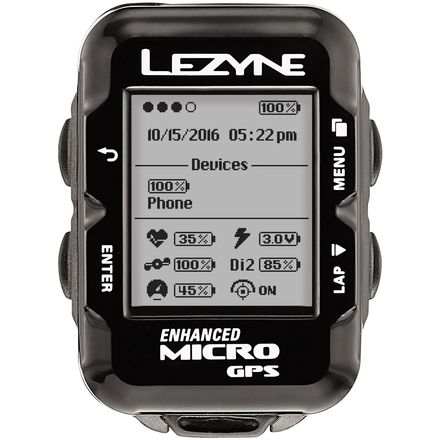 Lezyne Micro GPS HR Loaded Watch