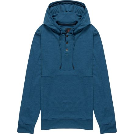 Mountain and Isles Henley Hoodie - Men's