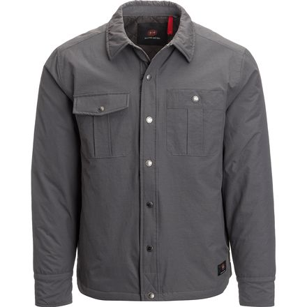 Mountain and Isles Shirt Puffer Jacket - Men's