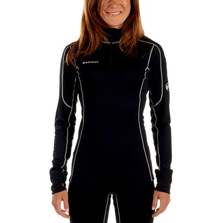 Mammut Go Warm Zip Long-Sleeve Top - Women's