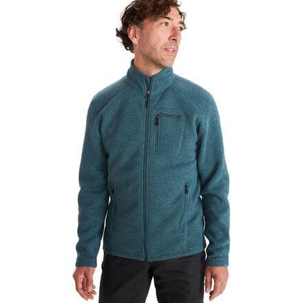 Marmot Herren Jacke Drop Line Lightweight 100 Weight Sweater Fleece