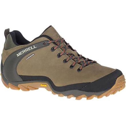 Merrell Chameleon 8 Mid GTX Mens Olive Brown Waterproof Walking Boots Size 7-13