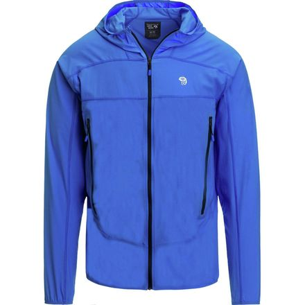 Mountain Hardwear Ghost Lite Stretch Hooded Jacket - Men's