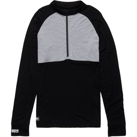Mons Royale Checklist 1/2-Zip Top - Men's