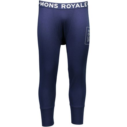 Mons Royale Shaun-Off 3/4 Long John - Men's