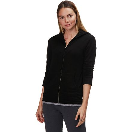 Monrow Super Soft Full-Zip Hoodie - Women's