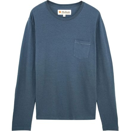 Mollusk Hemp Pocket Long-Sleeve T-Shirt - Men's