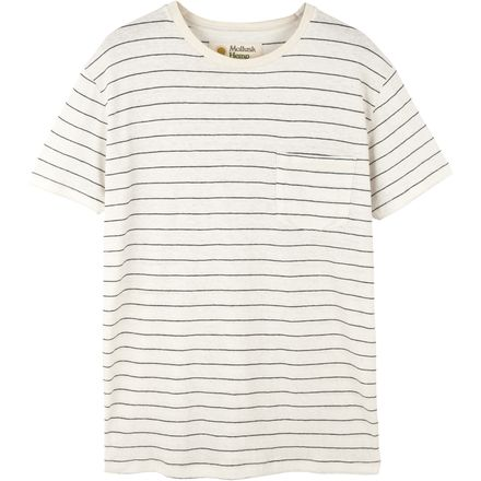 Mollusk Hemp Stripe T-Shirt - Men's