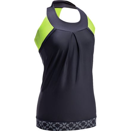 Moxie Cycling High Vis Lumenex Layered Tank Jersey - Sleeveless - Women's