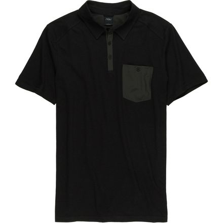 NAU Wander Polo Shirt - Short-Sleeve - Men's