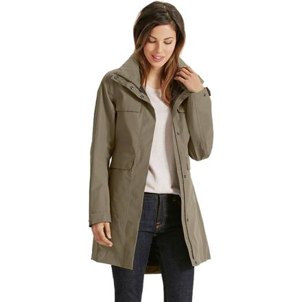 NAU Quintessentshell Trench Jacket - Women's