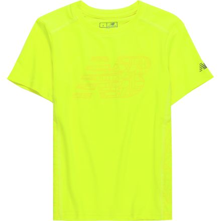 New Balance Firefly Performance Short-Sleeve T-Shirt - Boys'