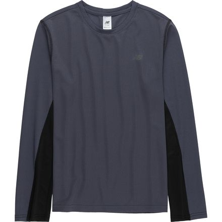 New Balance Thunder Performance Long-Sleeve T-Shirt - Boys'