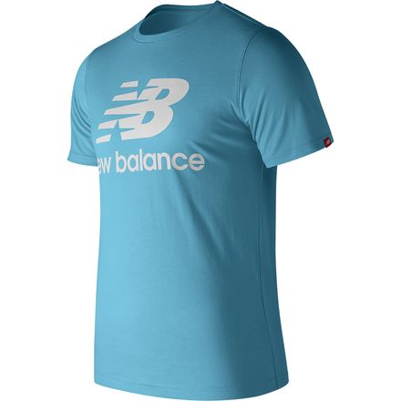 New Balance Essentials Stacked Logo T-Shirt - Men's