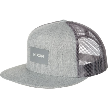 aa6a9a2a14f Nixon Team Trucker Hat
