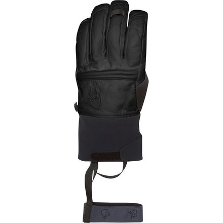 Norrona Røldal Dri Insulated Short Leather Glove - Men's