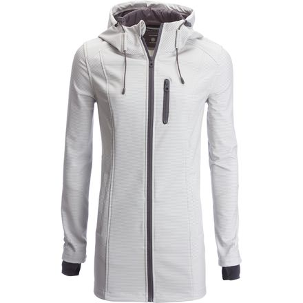 Nautica Hooded Softshell Rain Coat - Women's