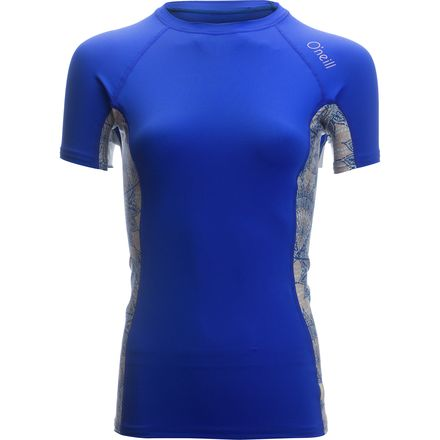 O'Neill Side Print Crew Rashguard - Short-Sleeve - Women's