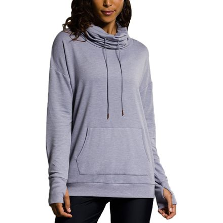 Onzie Tulip Back Cowl Neck Pullover - Women's