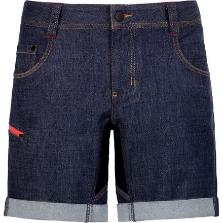 Ortovox Merino Black Sheep Denim Short - Women's