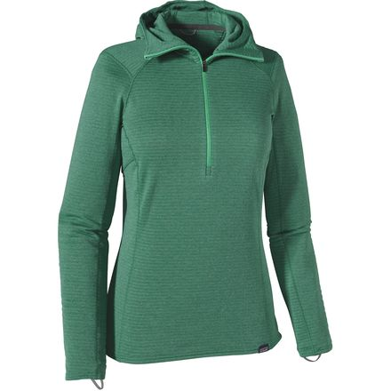 Patagonia Capilene Thermal Weight Zip-Neck Hooded Top - Women's
