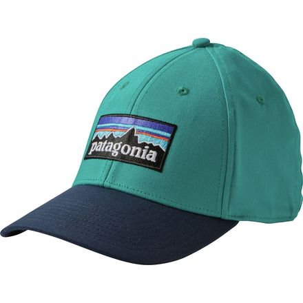 Patagonia P-6 Logo Stretch Fit Hat - Men's