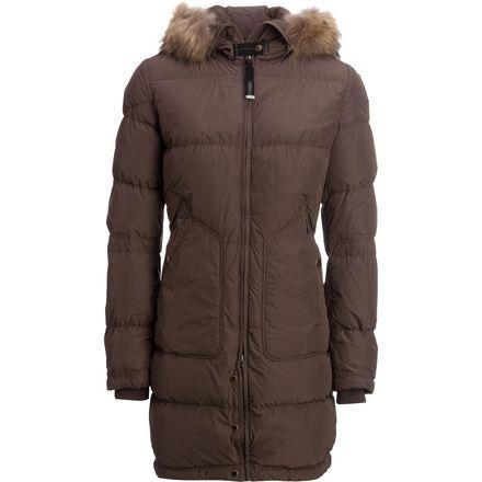 parajumpers women's long bear down coat