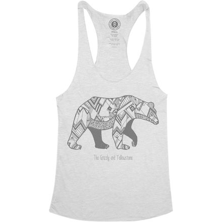 Parks Project Yellowstone Mascot Racerback Tank Top - Women's