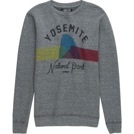 Parks Project Yosemite Color Block Crew Sweatshirt - Men's