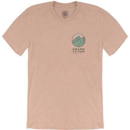 Parks Project Grand Teton Retro MTN Short-Sleeve T-Shirt - Men's