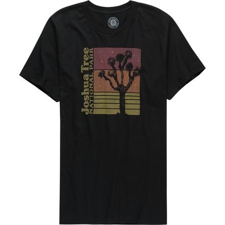 Parks Project Joshua Tree Stacked T Shirt Mens