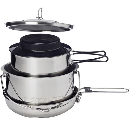 Primus Gourmet Deluxe Set - Stainless