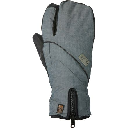 Pow Gloves Gem Trigger Mitten - Women's