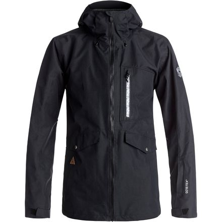 Quiksilver Black Alder 2L Gore-Tex Hooded Jacket - Men's