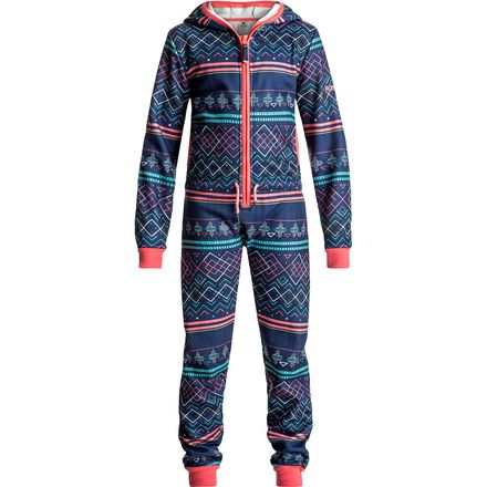 Roxy Cosy Up One Piece - Girls' | Backcountry.com