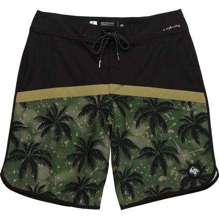 Quiksilver Crypt Scallop 20 Board Short - Men's