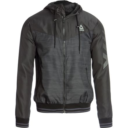 Reebok Men's Windbreaker (Charcoal)