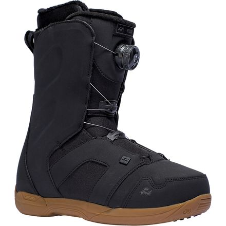 how to wear ride riot boa snowboard boots