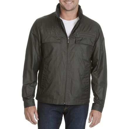 Rainforest Vintage Army Satin Bomber - Men's