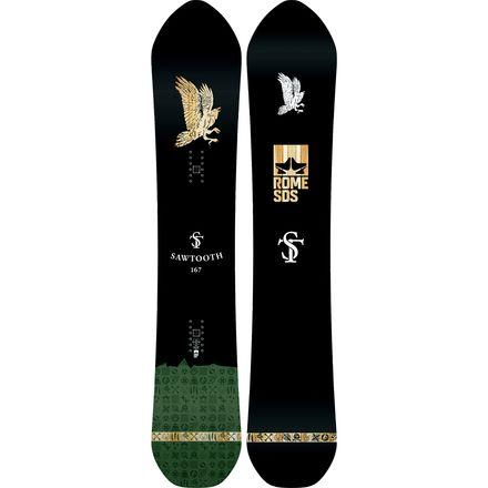 Rome Sawtooth Snowboard - Wide